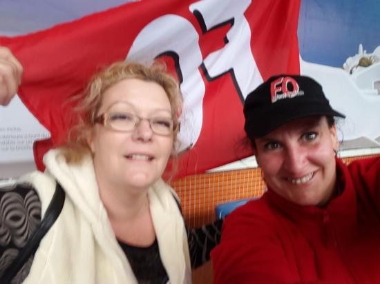 Christine et Kathy - Contre la Loi travail - Avril 2016