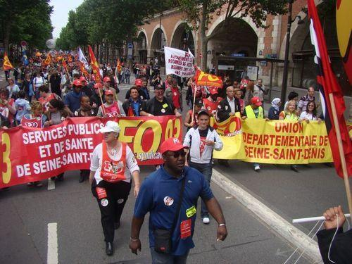 Mobilisation Retraites 15 Juin 2010